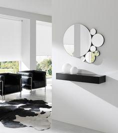 Mueble para equipo de sonido moderno buscar con google for Espejos redondos modernos