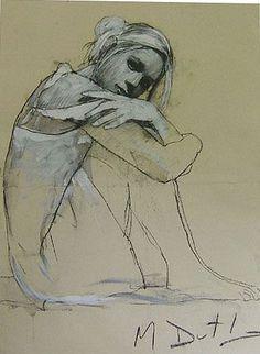 Life Drawing, Drawing Sketches, Pencil Drawings, Art Drawings, Drawing Tips, Mark Demsteader, Figure Sketching, Figure Drawing, Pencil Portrait