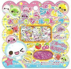 Kamio Japan *Jelly* PVC Sticker Sack