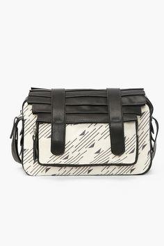 Cartella Messenger Bag - Nasty Gal.