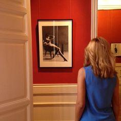 """Por último, Virginia disfrutando de la exposición temporal """"Korda, retrato femenino"""" (PHotoEspaña 2015) (2 de junio al 6 de septiembre 2015)"""