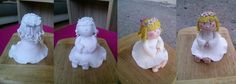 figurine of homemade fondant