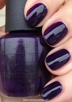 """""""Viking in a vinter vonderland"""" is one of my new favorites! OPI Fall 2014"""