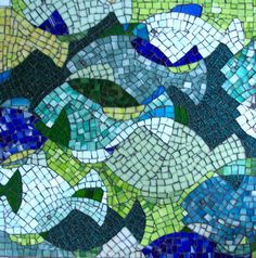 Mosaic would look great on exterior wall of beach house