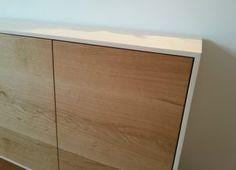 CHRISTOPH KILTZ | SCHREINERMEISTER sideboard aus ahorn und eichenholz, grifflose eleganz