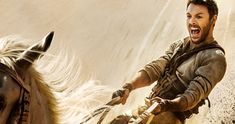 'Ben-Hur' Remake Trailer Sends Jack Huston to the Chariot Races -- Jack Huston stars as Judah Ben-Hur, a prince betrayed by his friend who goes on an epic journey of redemption in the new remake 'Ben-Hur'. -- http://movieweb.com/ben-hur-remake-trailer-2016/