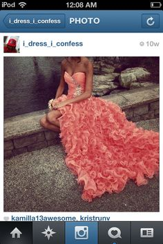 This is one of the most pretty dresses I have ever seen