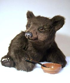 Realistic Brown Bear Cub URSULA by OsoMIMosO