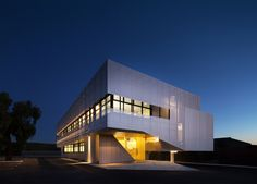Built by Braham Architects in Welshpool, Australia with date 2014. Images by Ben Price. Located in the inner-Eastern Perth suburb of Welshpool, Sanwell's new headquarters presents a contemporary language w...