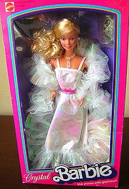 She was my favorite!! 80's Toys-Crystal Barbie so remember this Barbie