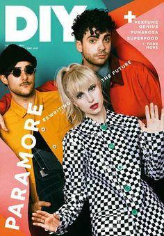 Paramore - DIY Magazine cover