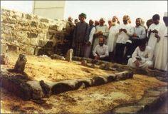 Peygamberimizin Kizi Hazreti Fatima`nin Kabri.