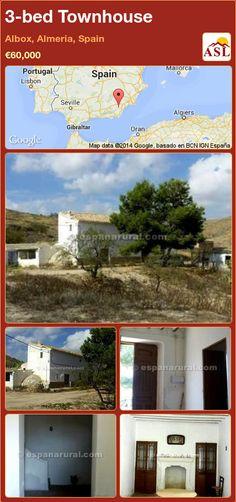 3-bed Townhouse in Albox, Almeria, Spain ►€60,000 #PropertyForSaleInSpain