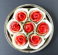 Easy Apple Pie Roses and Recipe at Kudos Kitchen by Renee'