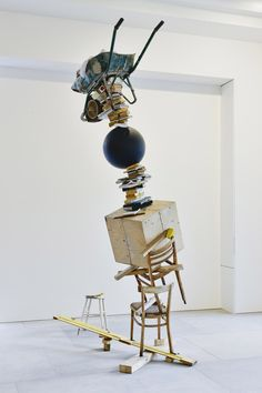 Tim Noble & Sue Webster,My Beautiful Mistake, (2012) atBlain Southern