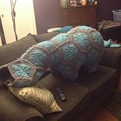 Ravelry: Lineandloops' Tinie the huge hippo