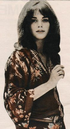 "1960s Cult / Style Icon: Tina Aumont sometimes referred to as Maria Christina ""Tina"" Aumont or Tina Marquand 