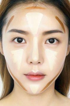 圓臉變成鵝蛋臉!韓國彩妝師Pony親授韓星最高段修容法