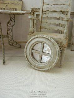 12th échelle Maison de Poupées Miniature Laiton Log Panier
