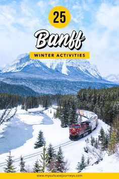 Skiing or snowboarding not your forte? Here are 25 fun ideas to add to your #Banff bucket list that will keep you busy all winter!   banff national park   banff winter activities   things to do in banff canada   things to do in banff winter   canadian rockies travel   canadian rockies winter   canadian rocky mountains Cool Places To Visit, Places To Travel, Travel Destinations, Time Travel, Winter Activities, Banff Activities, Travel Goals, Travel Advice, Travel Tips