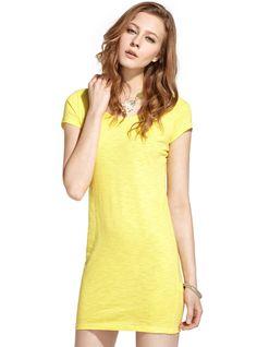 Women's Short Sleeved Summer All-matching Dress Long T-shirt----Comfort and soft Website: http://www.amazon.com/gp/product/B00MUBW19K