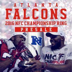 Presale:2016 Atlanta Falcons NFC Championship Ring