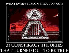 You May Call Me A Conspiracy Theorist If I May Call You A Coincidence Theorist. Most people can't resist getting the details on the latest conspiracy theories, no matter how far-fetched they may seem. At the same time, many people … Illuminati Conspiracy, Conspiracy Theories Government, Illuminati Symbols, Illuminati Exposed, History Timeline, History Facts, Ufo Sighting, Alien Sightings, Apocalypse