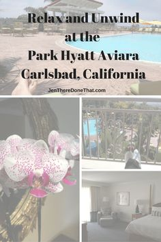 Review and photos of the Park Hyatt Aviara Resort and Spa in Carlsbad, California.