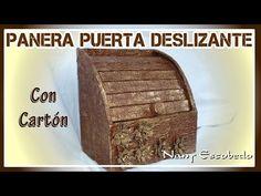 PANERA PUERTA DESLIZANTE CON CARTÓN - YouTube