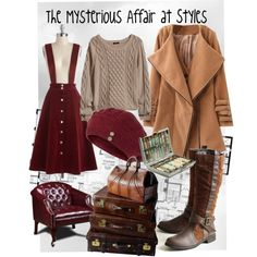 The Mysterious Affair at Styles by monkeytuesdays, via Polyvore