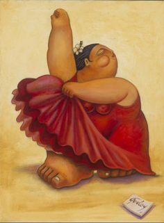 Alberto Godoy pintor cubano reside en Houston, Texas y dice que lo que es redondo es perfecto. Reconocido por el uso de colores vivos e imágenes superlativas que capturan temas de la vida diaria en el mundo hispano, Godoy nació en La Habana en 1960 y llegó a los Estados Unidos en 1978.