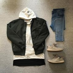 """""""Today's outfit #bershka #hm #balmain #adidas #yeezyboost350 #outfitgrid #ootd #outfitrepost #streetwear"""""""