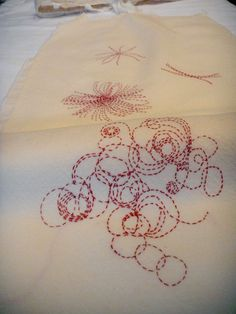 Christine Mauersberger It's amazing how much she achieves with the simple running stitch