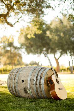 Mike Larson Wedding Photography / #Mikelarson / private estate weddings / guitar & barrel