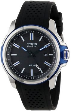 """cool Men's """"Eco-Drive"""" AR 2.0 Stainless Steel Watch - For Sale Check more at http://shipperscentral.com/wp/product/mens-eco-drive-ar-2-0-stainless-steel-watch-for-sale/"""