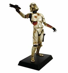 My 2 favorite things, SW and zombies!  Death Trooper Statue