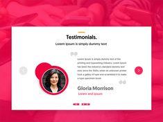 Testimonials Design Source by Website Design Layout, Website Design Inspiration, Web Layout, Fashion Web Design, Web Design Trends, Design Design, Minimal Web Design, Graphic Quotes, Graphic Design Posters