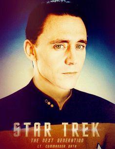 Loki as Lt. Commander Data