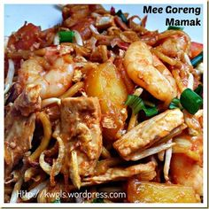 Uncle's Fried Noodles?–Mee Goreng Mamak (印度炒面)- Indian Muslim's Fried Noodles in Singapore and Malaysia