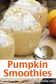 Pumpkin Smoothies Recipe - 16 Of The BEST Pumpkins Recipes