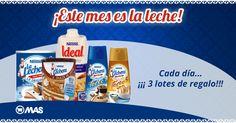 Sorteo de 3 lotes de La Lechera con @supermercadomas!