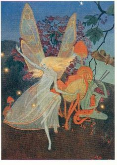 BUTTERFLY FAIRY  by   DOROTHY LATHROP