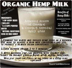Hemp is quite amazing. I just love it. I prepare hemp milk as well as almond and sunflower milk w/o any sweetener. Just it just as is...