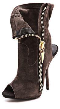 ShopStyle.com: Giuseppe zanotti Alien Peep Toe Booties $895.00  http://ShoeTrendsetters.com