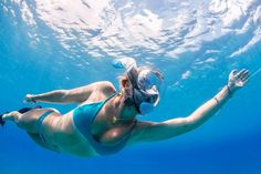 Ear Pressure, Full Face Snorkel Mask, Breathing Underwater, Deep Diving, Scuba Girl, Swimming Diving, Time Of Your Life, Full Face Mask
