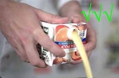 Pouring From a Carton | 13 Things You're Probably Doing Wrong