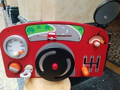 Super jeu de manipulation: Tableau de bord en bois à fixer au mur de la chambre ou à poser Executive Dashboard, Toys, Wall, Bedroom, Woodwind Instrument