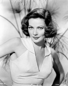 """Gene Tierney - women from the """"old times"""" had a much more glamorous """"aura""""!"""