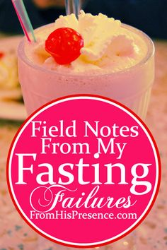 My blog post containing real-life stories about my fasting failures... and how you can actually succeed where I failed!
