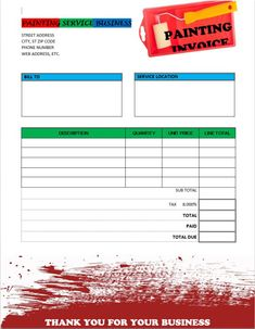 Free Editable Invoice Templates Printable Homerepair Invoice - How to create invoice in excel cricket store online